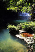 Spring waterfall — Stock Photo