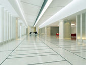 Empty hall interior — Stock Photo