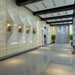 Empty hall interior — Stock Photo #28160763