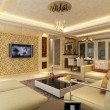 Home interior 3d rendering — Photo