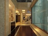 Boş koridor iç — Stok fotoğraf