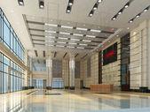 Lege zaal interieur — Stockfoto