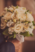 Bridal bouquet of flowers — Stock Photo