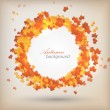 Autumn background. Vector — Stockvektor