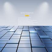 Abstracte achtergrond van kubussen. vector — Stockvector