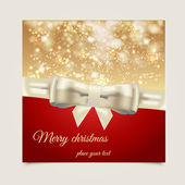 Christmas background with place for text. Vector — Stock Vector