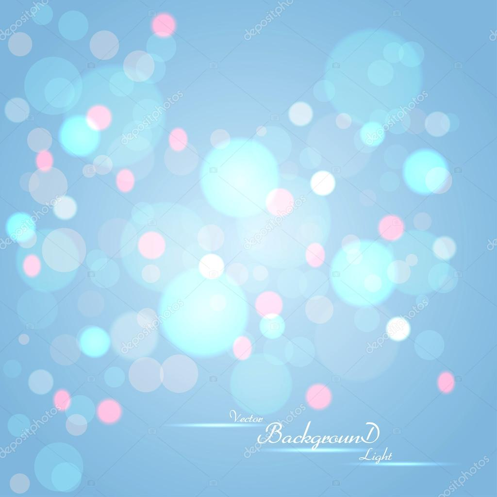 Abstract background with glowing circles. Vector  Stock Vector #18279247