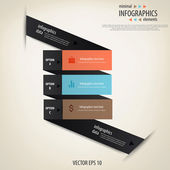 Minimální infografiky. vektor — Stock vektor
