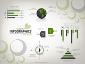 Infographics Design template. Vector — Stock vektor