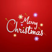 Merry Christmas letters stylized for the drawing. Vector — Vector de stock