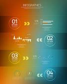 Conception infographie minime — Vecteur
