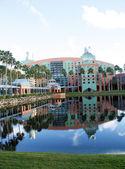 Swan Hotel at Walt Disney World (2) — Stock Photo