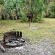 Stock Photo: Remote Tropical Camp Site