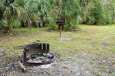Remote Tropical Camp Site — Stock Photo