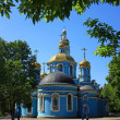 Orthodox Church of the Nativity of the Blessed Virgin Mary in Ufa — Stockfoto