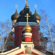 Entrance to the Orthodox Church — Stockfoto