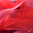 Royalty-Free Stock Photo: Red satin ribbon