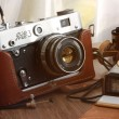 Vintage film camera — Stock Photo #25353649