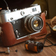 Vintage film camera — Stock Photo #26244825