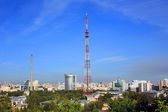 View of the city of Yekaterinburg — Stock Photo