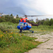 Helicopter Emergency Medicine takes off — Stock Photo