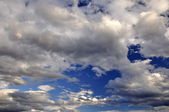 Dramatic clouds - cloudscape shoot 1 — Stock Photo
