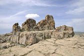 Megalithic architecture - observatory Kokino — Stock Photo