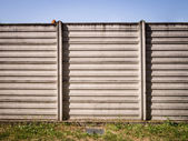 Concrete wall of industrial background — Stock Photo