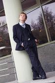 Teen negocio exitoso ajuste calle — Foto de Stock