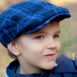 Portrait of cunning little boy — Stock Photo #14123703