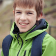 Stock Photo: Portrait of teen, outdoor