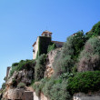 Stock Photo: Ruin of castle in Spain