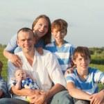 Big Happy Family — Stock Photo #51533175