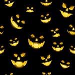 Jack-o-lantern seamless — Stock Vector #13395393