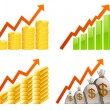 Royalty-Free Stock Vector Image: Charts