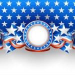 American background — Stock Vector #25865545