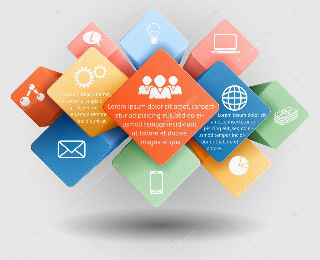 Infographic Template Stock Vector 169 Djahan 32800821