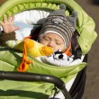 Baby Outdoors - Foto Stock