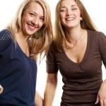 Two European Women — Stock Photo #12517060