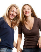 Two European Women — Stockfoto