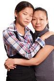 Twee aziatische vrouw — Stockfoto