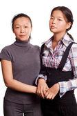 Two Asian Woman — Stock Photo