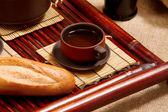 Stilleven met thee — Stockfoto