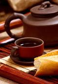 お茶のある静物 — ストック写真