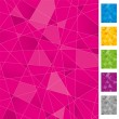 Vector de stock : Geometric background