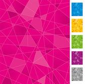 Geometrické pozadí — Stock vektor