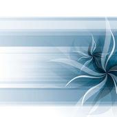 Vector Flowers Background — Stock Vector