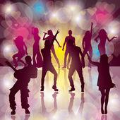Dance Party — Stock Vector