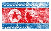 North Korea Concept — Stock Vector
