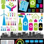 Infographic 01 — Stok Vektör